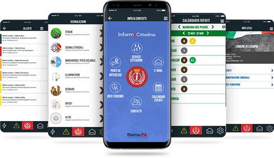 App Comuni protezione civile